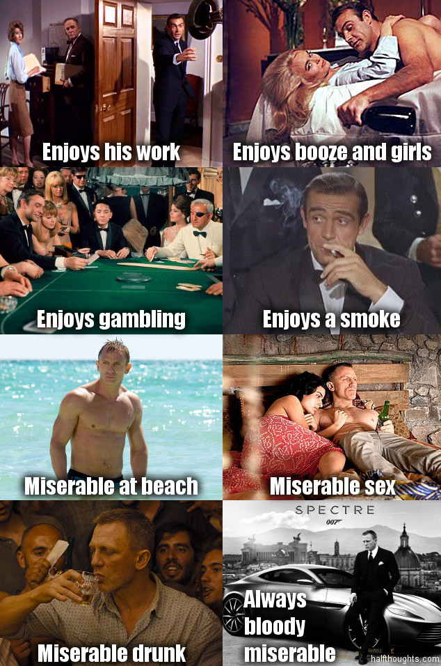 James Bond 1960s - 2010s